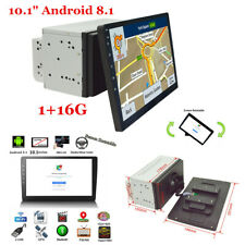 "2Din 10.1"" Android 8.1 Car Stereo GPS Quad-core Bluetooth Navigation 1080P Wifi"