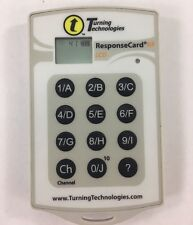 * PCRF-03 TURNING TECHNOLOGIES PRESENTER ResponseCARD RF similar PCRF-01 PCRF-02