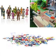 Lifelike100x1:100 Building Layout Model People HO Scale Painted Figure Passenger