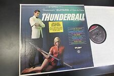 DAN & DALE theme from thunderball 007 ORIGINAL LP DS2616 cheesecake guitar ost
