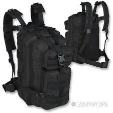 Alpha tactical petite Armée Patrouille Pack Molle Jour Noir sac militaire