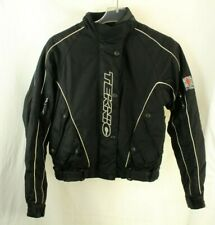 Teknic Hydro Guard Motorcycle Womens Jacket Black Size 8/36