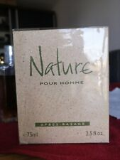 "Yves Rocher ""Nature pour homme"" 75 ml - rare discontinued aftershave"