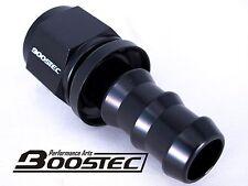 BOOSTEC Push On/Socketless Hose End/Fitting 10AN AN10 straight 0 degree Black