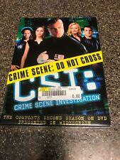 CSI: Crime Scene Investigation - The Complete Second Season (DVD, 2003,...