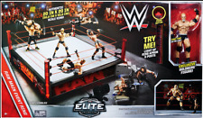 WWE MATTEL ELITE SCALE WRESTLING RING RAW BRAND NEW INCLUDING GOLDBERG