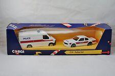 Corgi C19 Police set Ford Transit et Saab 9000  Neuf/Boîte ! peu courant ! (#C1)