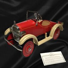 Hallmark Kiddie Car Classics 1926 Luxury Steelcraft Speedster Pedal Car #QHG9045