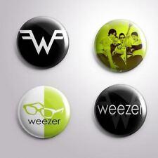 4 WEEZER -  Pinbacks Badge Button 25mm 1''..
