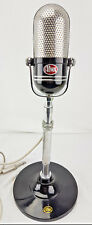 Vintage AIWA Crystal M18 PILL Microphone, Japan M 18 - w/ Base Excellent Cond.