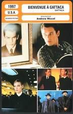 BIENVENUE A GATTACA - Hawke,Thurman,Law,Niccol (Fiche Cinéma) 1997