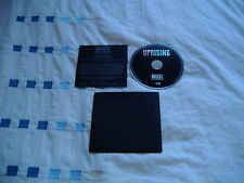 MUSE UPRISING RUBBER CASE PROMO CD MINT CONDITION! RARE