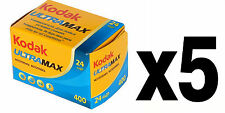 Pellicola 35mm Rullino Colore Kodak Gold Ultra Max 400 135-24 5pz.