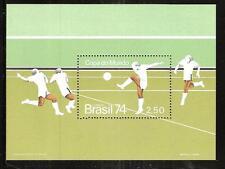 BRAZIL  # 1351 MNH WORLD SOCCER CUP CHAMPIONSHIPS 1974