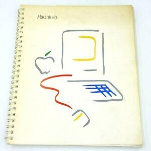 Vintage 1984 Apple Macintosh Computer Manual M1500 030-0687-B Book Original BK19
