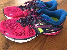 BROOKS Ghost Ravena 7 Women's Size 9 Running Shoes 1201821b657 Pink Blue EUC