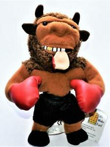 Mike (Tyson) Bison Meanie Doll 1998 Holyfield's Ear In Mouth Tag Mint Condition