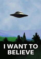"""I Want To Believe X Files Poster 24x36"""""""