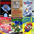 Nintendo NES Game Pick Mario Tetris Double Dragon Contra Turtles Lot Bundle