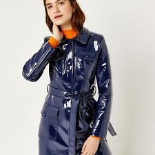 PATENT VINYL TRENCH COAT, TRENCH COAT FROM WAREHOUSE SOLD OUT!