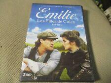 """COFFRET 3 DVD NEUF """"EMILIE : LES FILLES DE CALEB, PARTIE 2"""""""