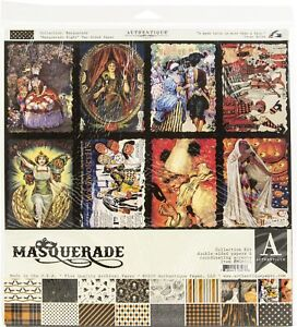 """Authentique Collection Kit 12""""X12""""-Masquerade"""