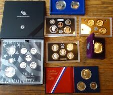 UNITED STATES MINT SILVER PROOF SET LOT