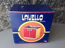 70s Vintage Toy Lavello Elettrico NIB Rare Made In Italy wash basin#Barbie size