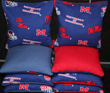 All Weather Mississippi Ole Miss Cornhole Bean Bag 00004000 s Resin Fill Waterproof