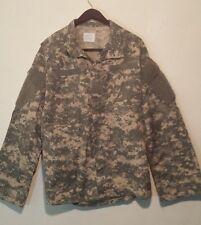 Coat Army Combat Uniform Digital Long Sleeve Men's Size Large Regular