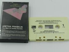 The Best of Aretha Franklin Cassette Tape 1984 Atlantic Recording Chain of Fools
