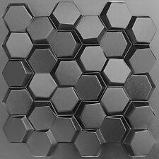 WABEN - Kunststoff Pressform zur Herstellung von 3D Dekor Wand-paneelen