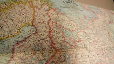 Kaart, carte, map Western Soviet Union - National Geographic 1/6336000