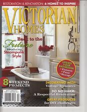 VICTORIAN HOMES MAGAZINE APRIL 2011 - STEAMPUNK STYLE , 8 WEEKEND PROJECTS