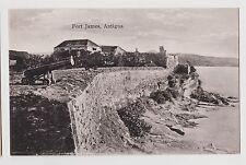 St.John's,Antigua,B. W.I.Fort James at St.John's Harbor,Canon in Front,c.1920s
