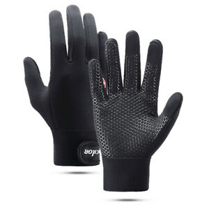 Outdoor Cycling Gloves Waterproof Touch Screen Men and Women Warm Winter Fleece
