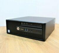 HP Pro 400 G3 SFF Desktop Win 10 Intel Core i7 6th Gen 3.4GHz 8GB 250GB SSD WiFi