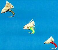 Serendipity Fly Fishing Flies - Twelve Flies - Just Choose Color and Hook Size