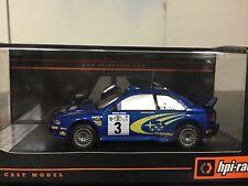 HPI 8581 2000 SAFARI WINNER Subaru Impreza RS WRX STI WRC '99 1/43 Richard Burns