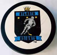 ATLANTA KNIGHTS OFFICIAL IHL HOCKEY PUCK  VEGUM MFG. MADE IN SLOVAKIA  TRENCH