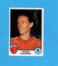 SPORT SUPERSTARS/EURO FOOTBALL 82-PANINI-Figurina n.10- KAZANKINA - URSS -Rec
