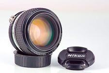 Classic Cult Lens Nikkor Ais 50 50mm F1.2 NIKON F F2 F3 F4 Nikkormat near Mint
