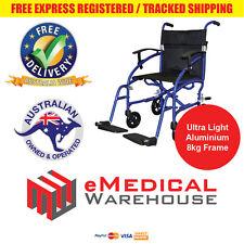 Days Swift Light Attendant Propelled Wheelchair - Ultra light aluminium frame