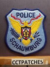SCHAUMBURG, ILLINOIS POLICE SHOULDER PATCH IL