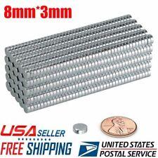 550100pcs Super Strong N52 Round Disc Neodymium Mini Fridge Magnets Rare Earth