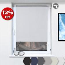 Thermo Rollo Klemmfix Verdunklungsrollo für Fenster ohne Bohren Verdunkelung