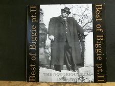 NOTORIOUS B.I.G.  Best Of Biggie Pt. 2.  DBL LP   Lovely copy!