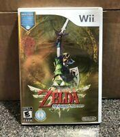 The Legend of Zelda: Skyward Sword (Nintendo Wii) Clean w/ Soundtrack Tested