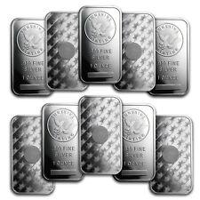 1 oz Silver Sunshine Mint Bars - 10 Bar Lot
