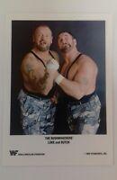 "WWF - Wrestler Bushwhackers Luke Butch 7""X5"" Reprint Glossy Publicity Photo Shot"